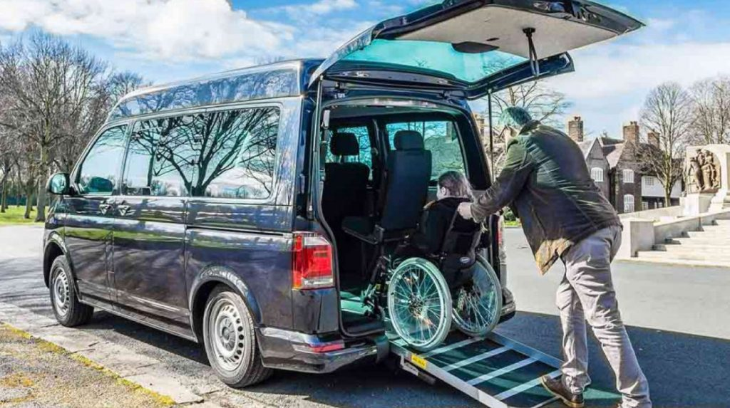 Lewis Reed Group | British Supplier of Wheelchair Accessible Vehicles | Ramp